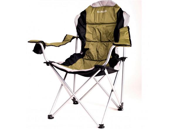 Кресло-шезлонг FC750-052 зеленое RA 2221 Ranger