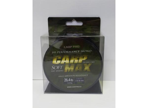 Леска CARP MAX CAMO 1000M CP4310-035 CARP PRO 0,35