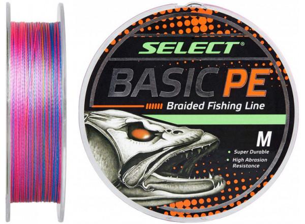 Шнур Select Basic PE 150m (разноцв.) 0.04mm 5lb/2.5kg