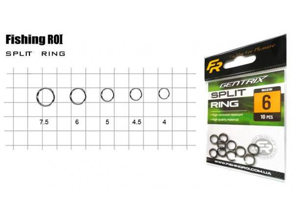 Заводное кольцо Fishing ROI Split ring №4 (20шт/уп) 707-05-4