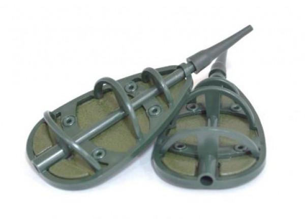 "Кормушка Flat Feeder ""Зеленая"" поликарбонат 35гр 16-14-0307 Fishing ROI"
