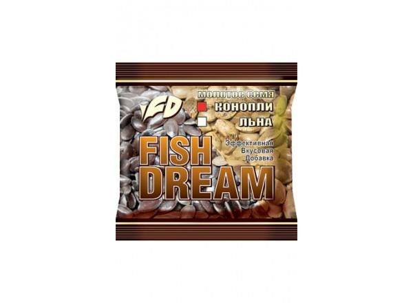 Добавка Конопля молотая 200гр Fish Dream