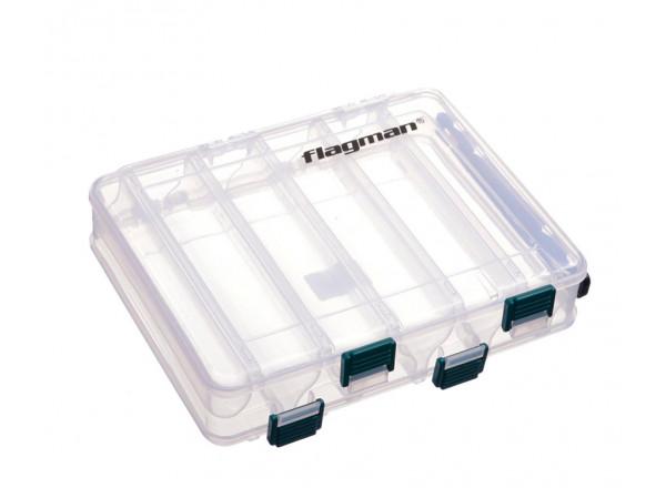 Коробка пластикова двостороння 20.6х17.0х4.2см WH1328
