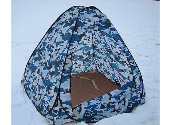 Палатка белый камуфляж 2,3*2,3*1,65м