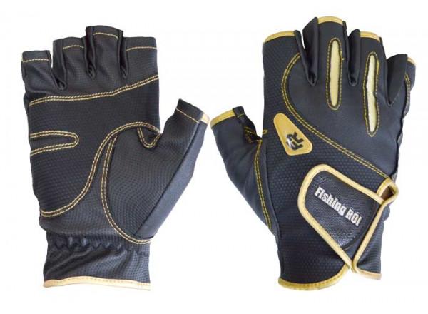 Перчатки спиннингиста ( без пальцев) 301-WK-04-XL-5 Fishing ROI XL(р)