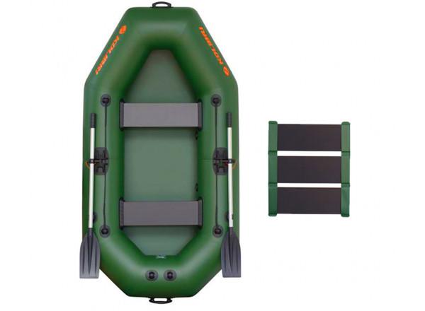 """Лодка К-240 зеленая """"Базовый""""компл."""