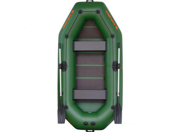 """Лодка К-280СТ слань-коврик зеленая """"Базовый""""компл."""