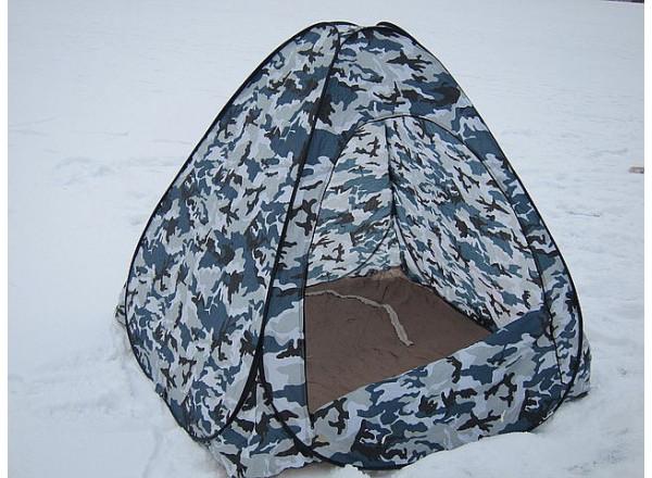 Палатка автомат белый камуфляж  2*2м